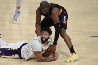 Los Angeles Lakers Anthony Davis, Phoenix Suns Chris Paul