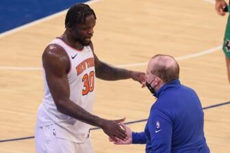 Julius Randle, NBA Playoffs flop, New York Knicks