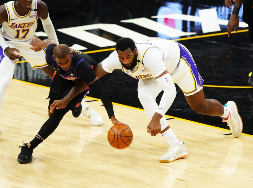 Los Angeles Lakers Andre Drummond, Phoenix Suns Chris Paul