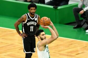 Kyrie Irving, Brooklyn Nets blowout Boston Celtics
