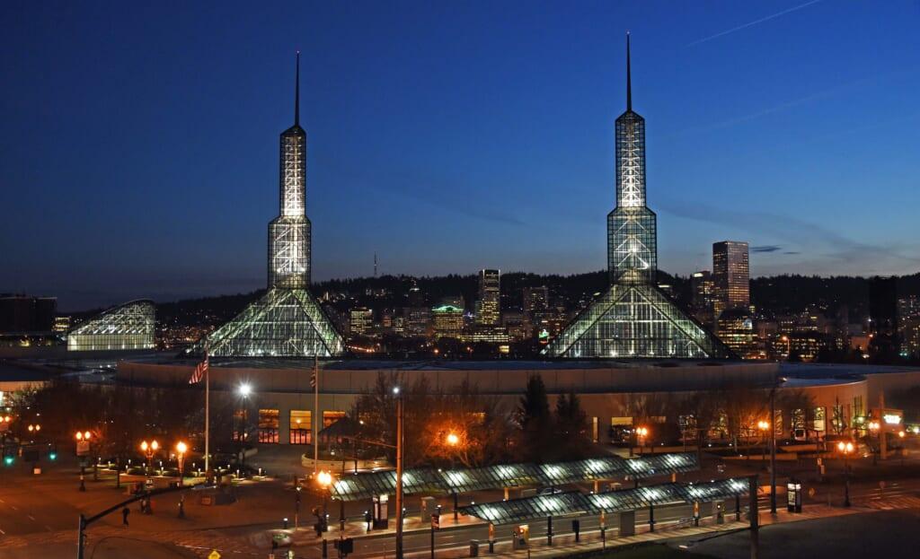 Oakland Athletics relocate to Portland.