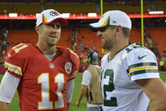 Alex Smith calls Packers' Aaron Rodgers fiasco 'inexcusable'