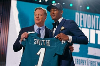 Devonta Smith will be a problem for the Dallas Cowboys and other NFC East teams.