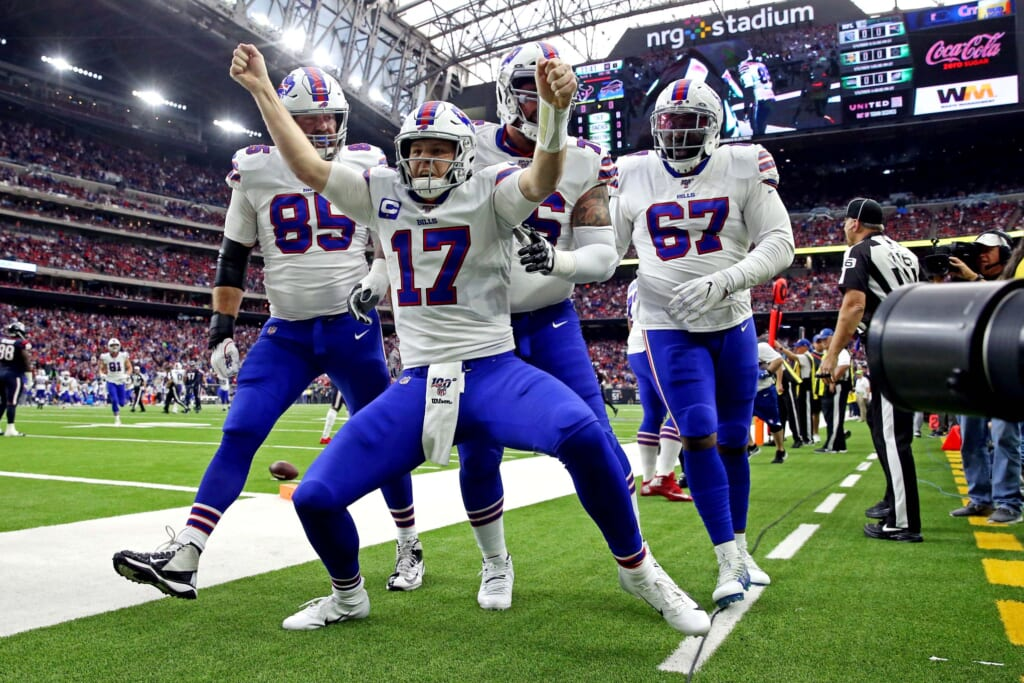 Ascending to captain, Josh Allen led Bills to the playoffs