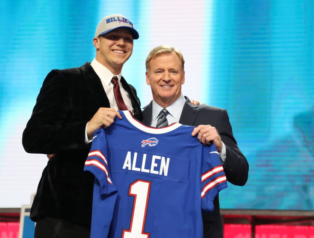 Josh Allen entered the NFL as a major project