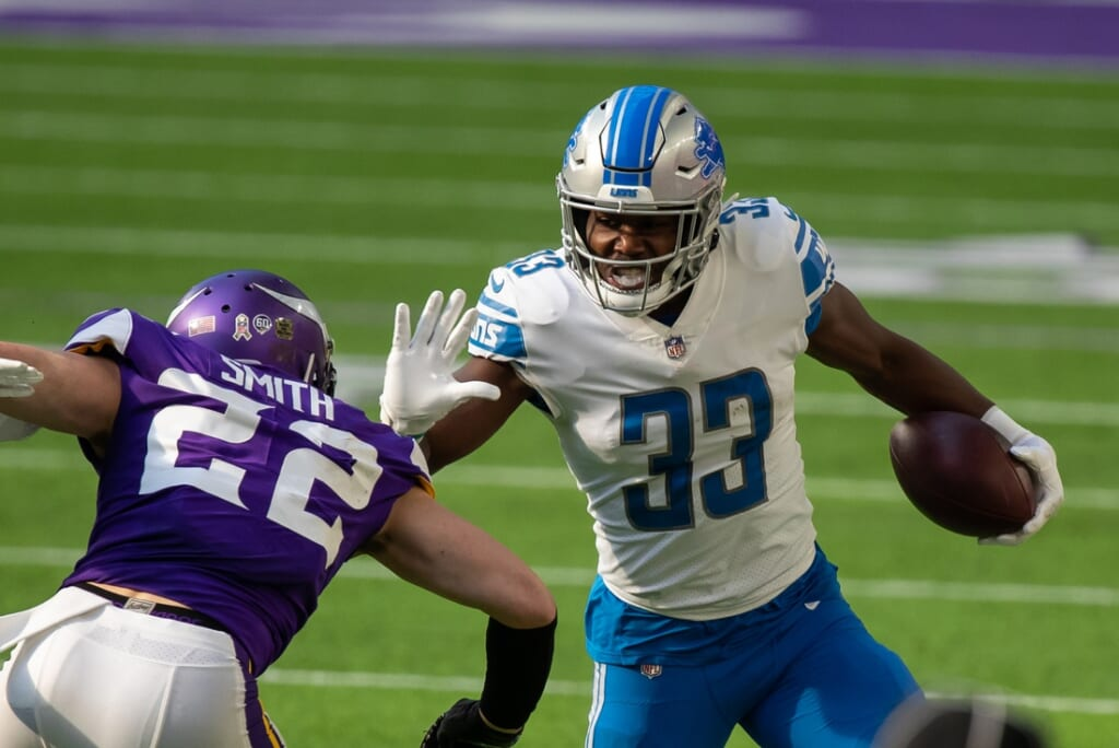 Kerryon Johnson's skill set fits what Eagles need