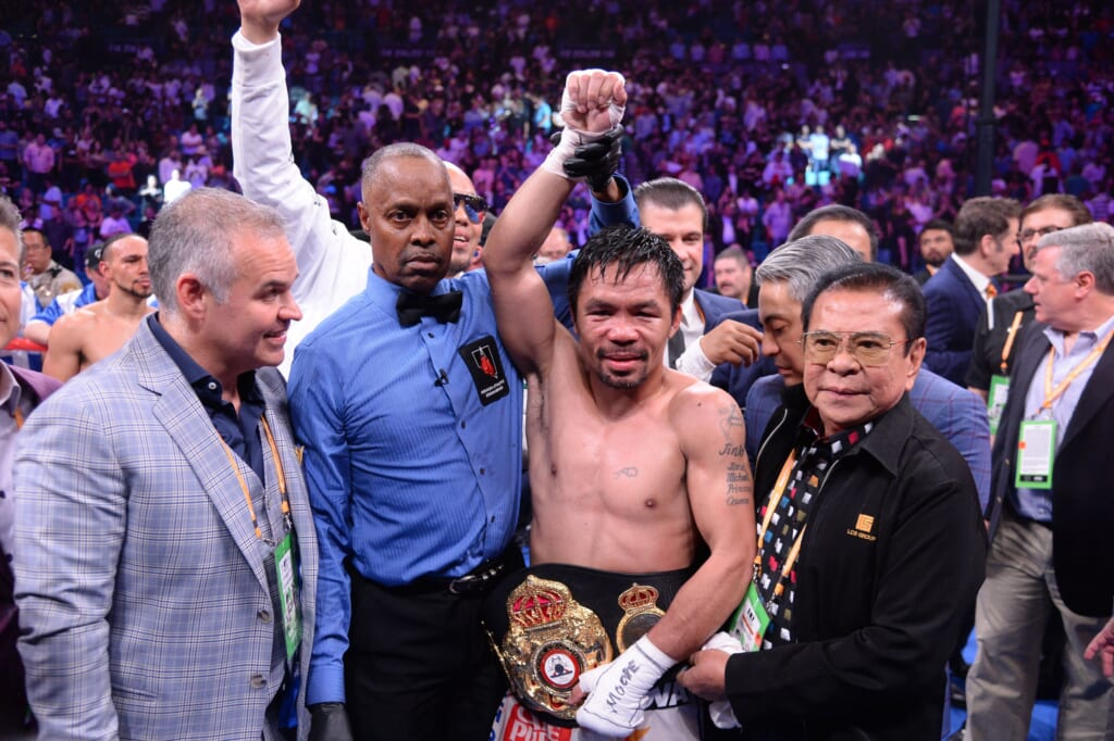 Can Manny Pacquiao maintain vintage form vs. Errol Spence Jr. after layoff?