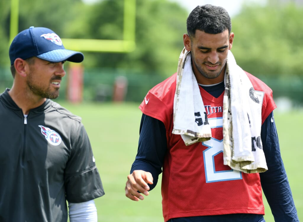 Crazy QB trades that could happen in 2021 NFL offseason: Marcus Mariota to Green Bay Packers