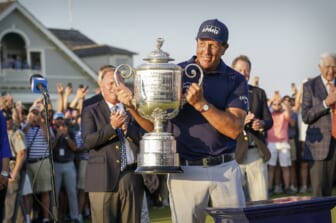 PGA ratings soar for Phil Mickelson's historic win