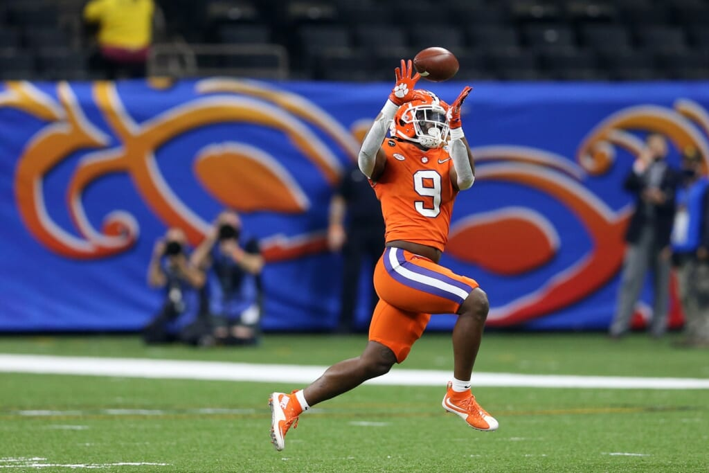 Travis Etienne's skill set suggests he can shine at receiver