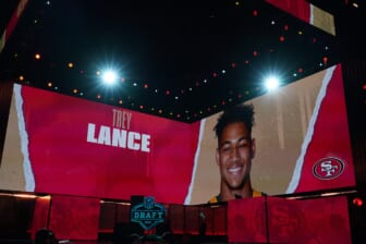 Kyle Shanahan says Trey Lance can win 49ers' QB job