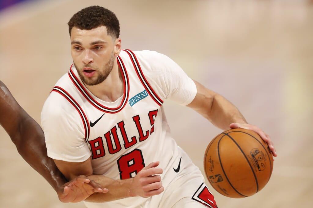 Chicago Bulls extend Zach LaVine