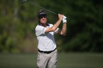 Scenes from final round of the Chubb Classic at Tiburon Golf Club in Naples on Sunday, April 18, 2021. Steve Stricker shot a -16 under to win the tournament. Robert Karlsson and Alex Cejka tied for second at -14 under.  Chubb 0188