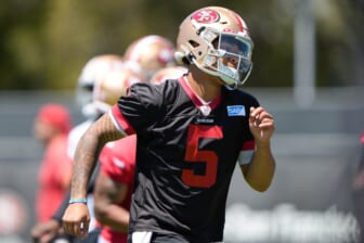 Trey Lance ends brief training camp holdout, signs San Francisco 49ers contract