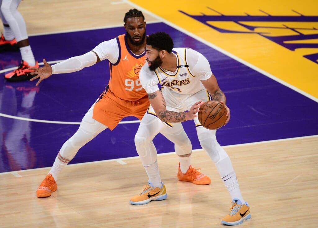 Los Angeles Lakers star Anthony Davis
