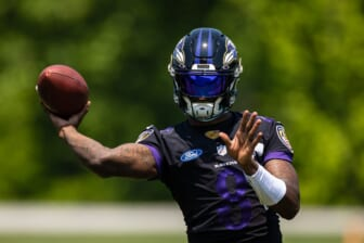 Baltimore Ravens' Lamar Jackson misses practice with flagged COVID test