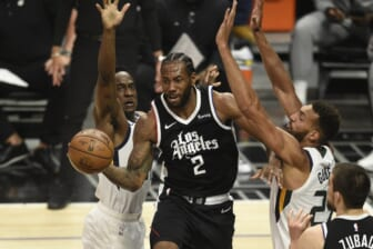 Clippers' Kawhi Leonard out for Game 3 vs. Suns