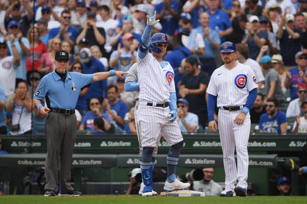 Chicago Cubs, Joc Pederson trade