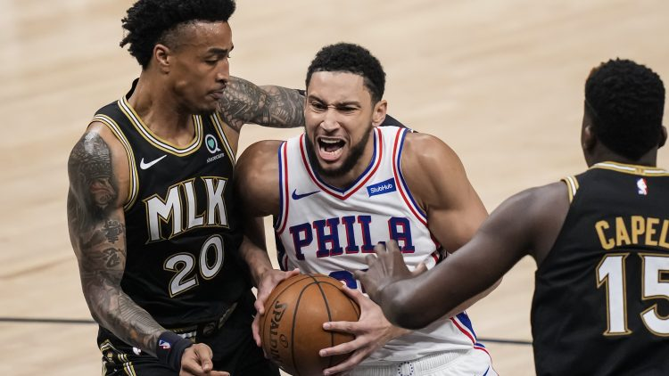 76ers would have to sweeten the pot in a ben simmons for c.j. mccollum trade