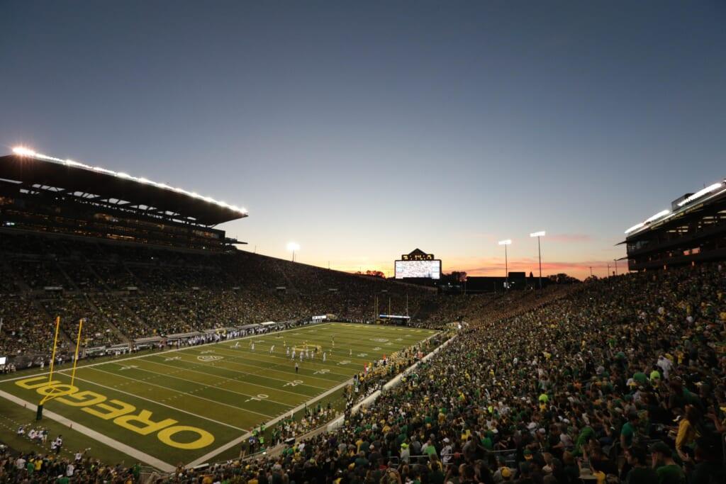 Best college football stadiums: Autzen Stadium, Oregon Ducks