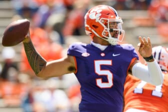 D.J. Uiagalelei's quote on pressure suggests he'll handle succeeding Trevor Lawrence