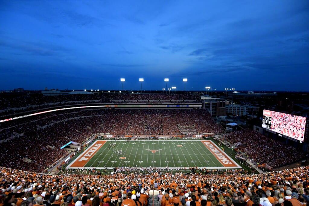 Best college football stadiums: Darrell K Royal Texas Memorial Stadium, Texas Longhorns