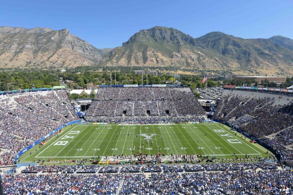 Best college football stadiums: LaVell Edwards Stadium, BYU Cougars