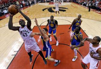Golden State Warriors trade for Pascal Siakam