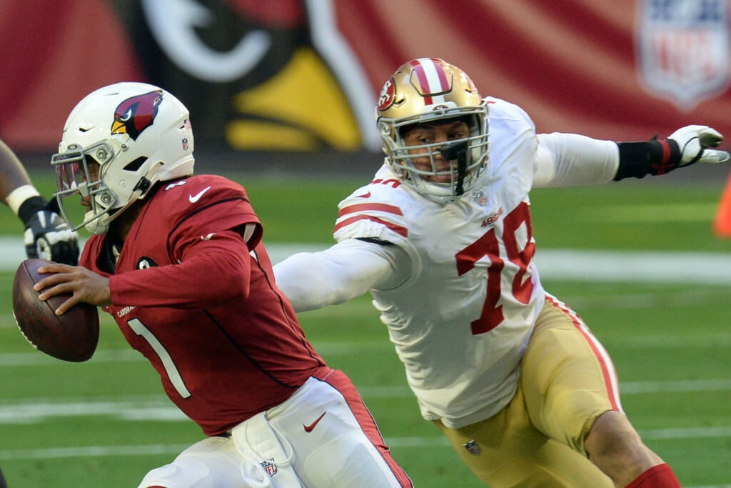 San Francisco 49ers' Jordan Willis suspended