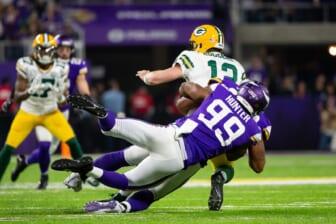 NFL blockbuster trades: Aaron Rodgers, Danielle Hunter