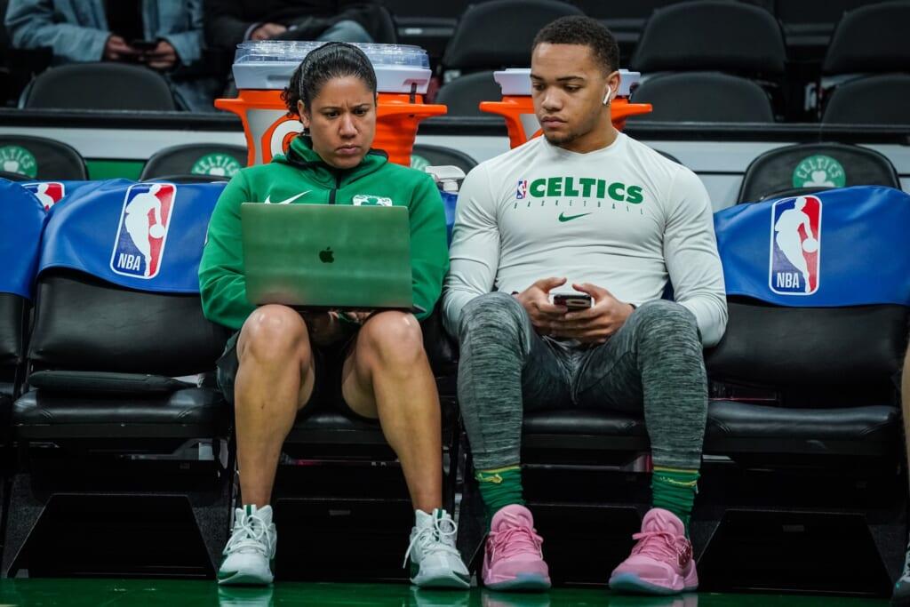 Boston Celtics hire Kara Lawson.
