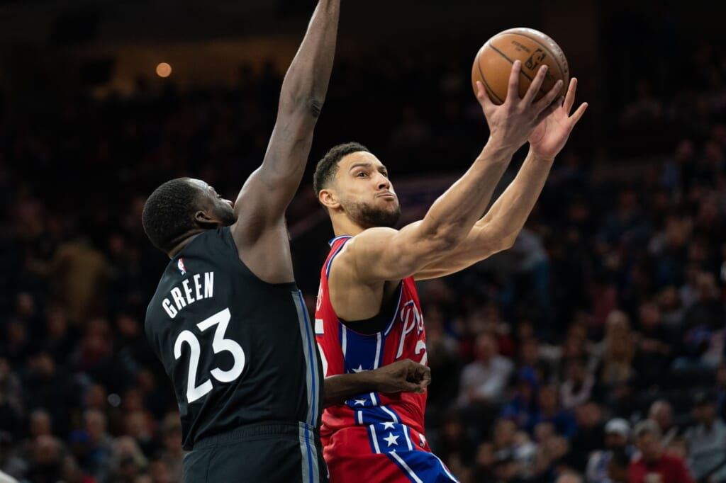 Ben Simmons NBA Draft trade to the Golden State Warriors