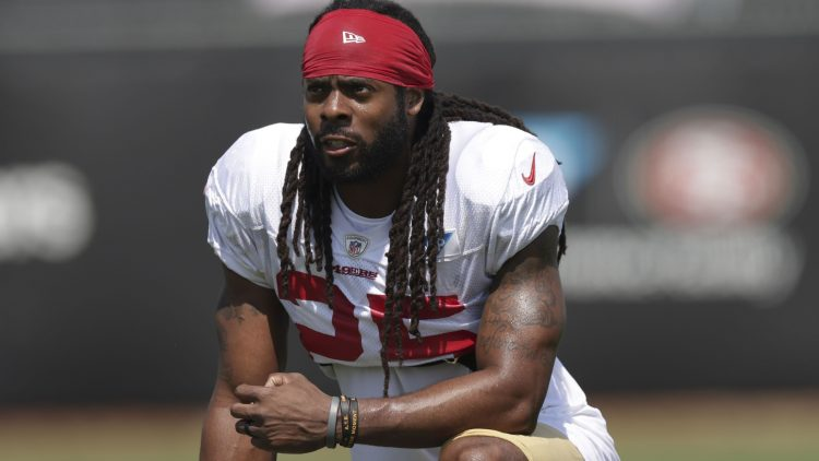 Richard Sherman apologizes for actions after arrest, vows to get help
