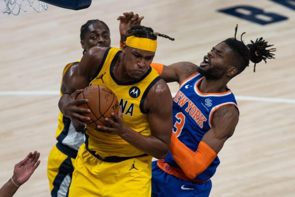 Myles Turner trade to the New York Knicks
