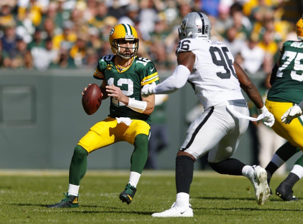 Derek Carr to Green Bay Packers