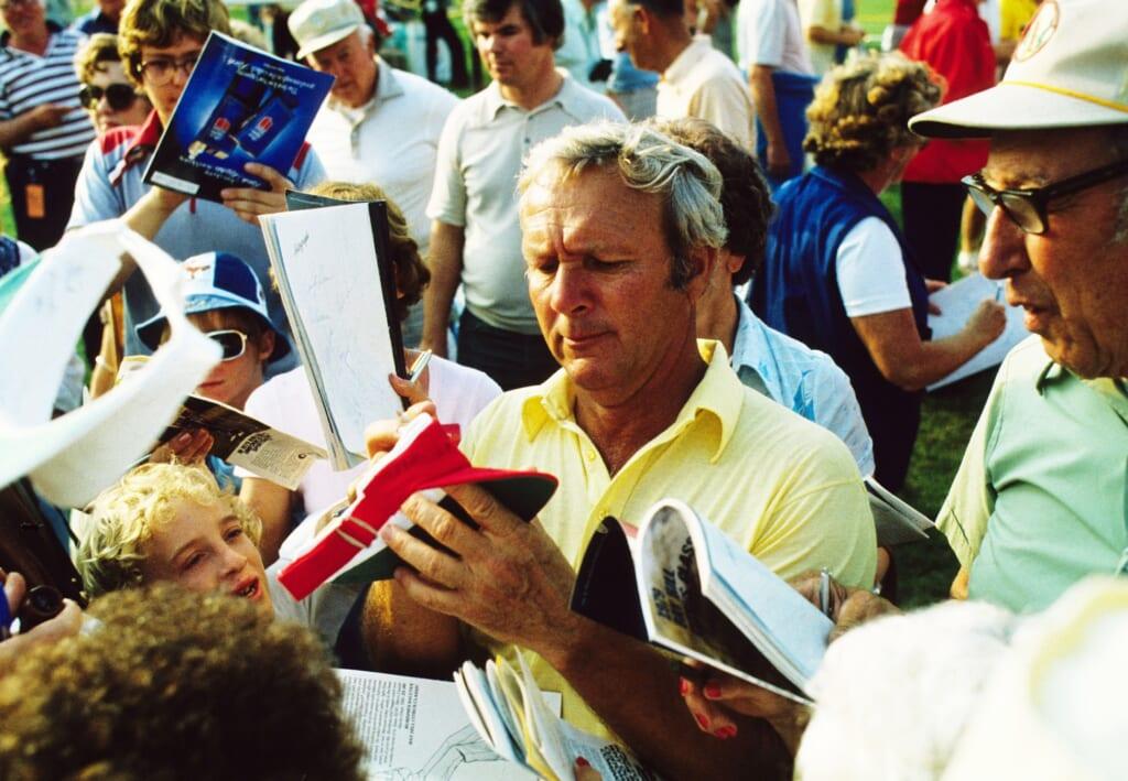 5. Arnold Palmer, 62 PGA Tour wins