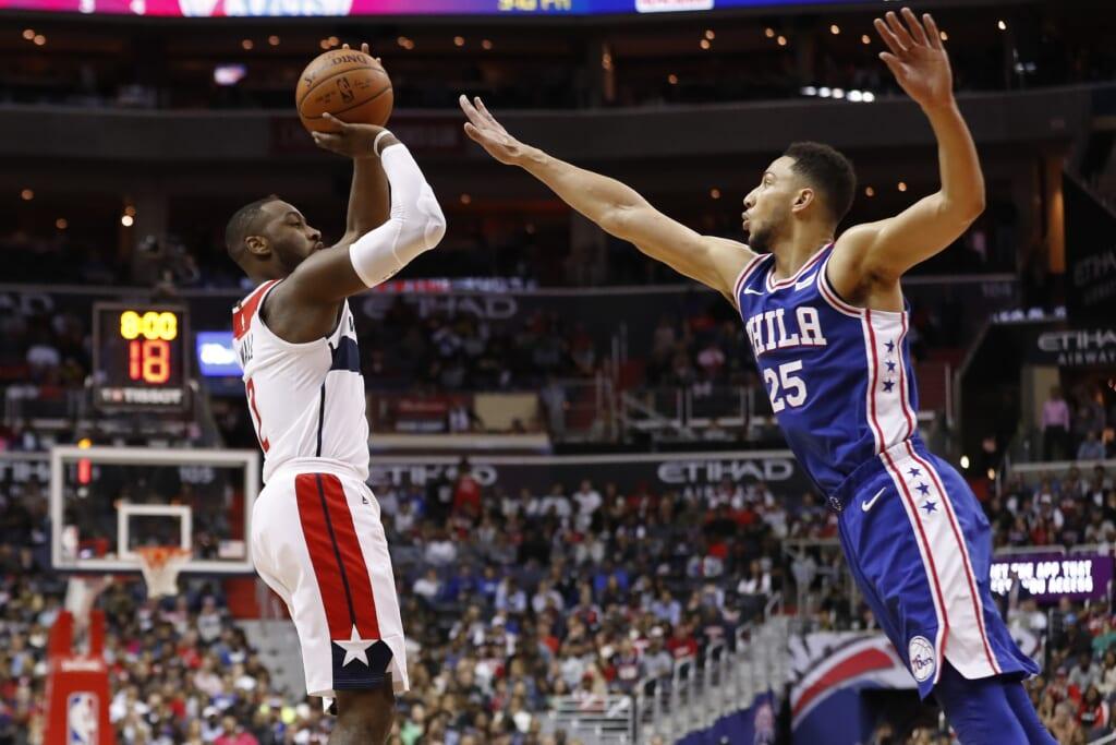 Ben Simmons to Houston Rockets