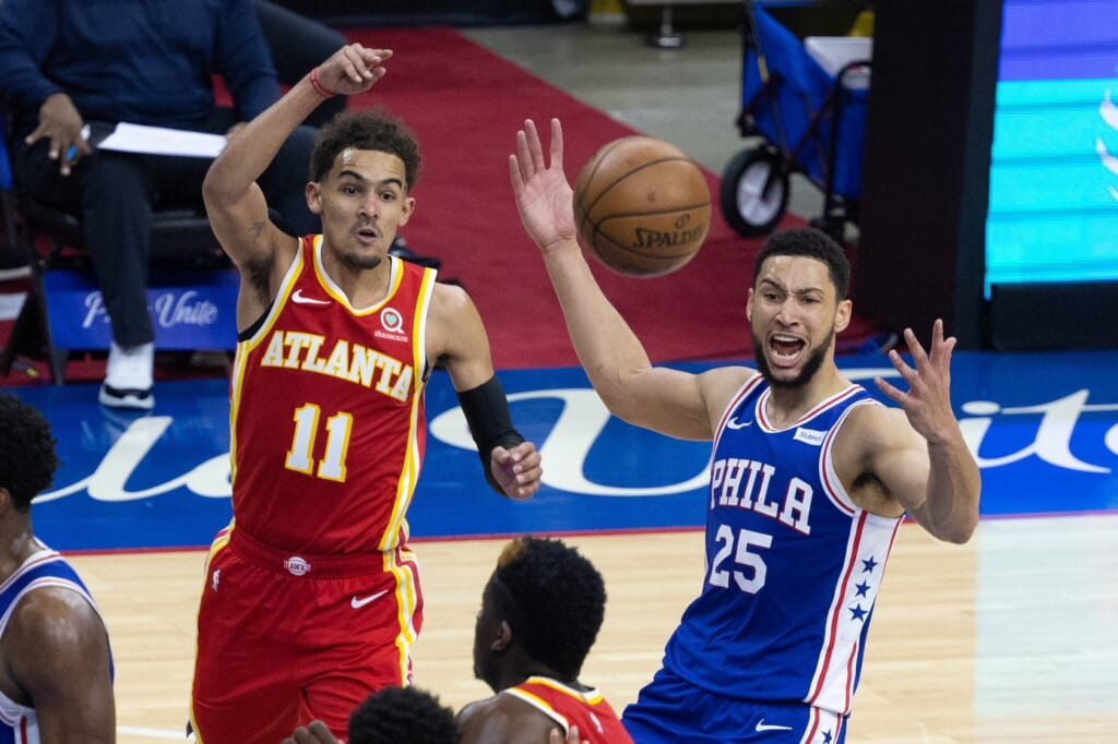 Keys to Atlanta Hawks stealing series from 76ers in Game 7