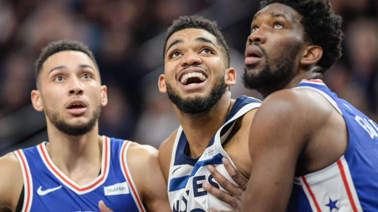 ben simmons trade for karl anthony towns