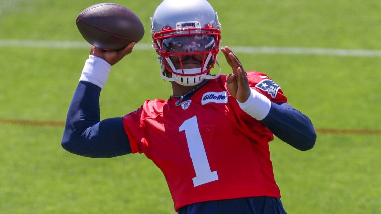 case for cam newton to be new england patriots starting qb