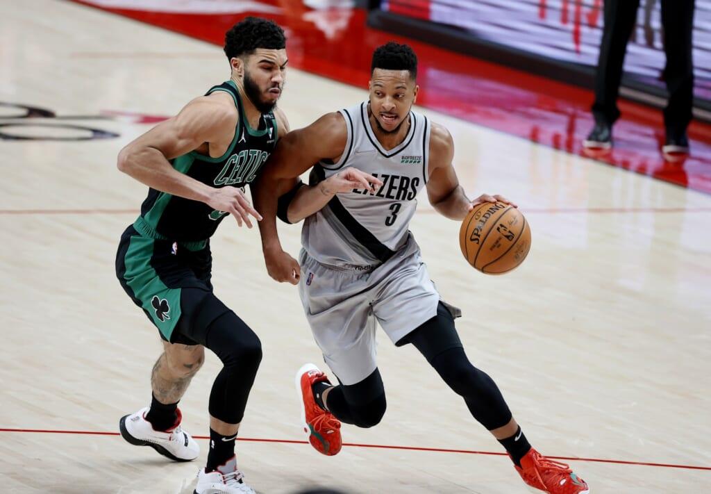 Boston Celtics join the fun in 3-team Damian Lillard trade for CJ McCollum