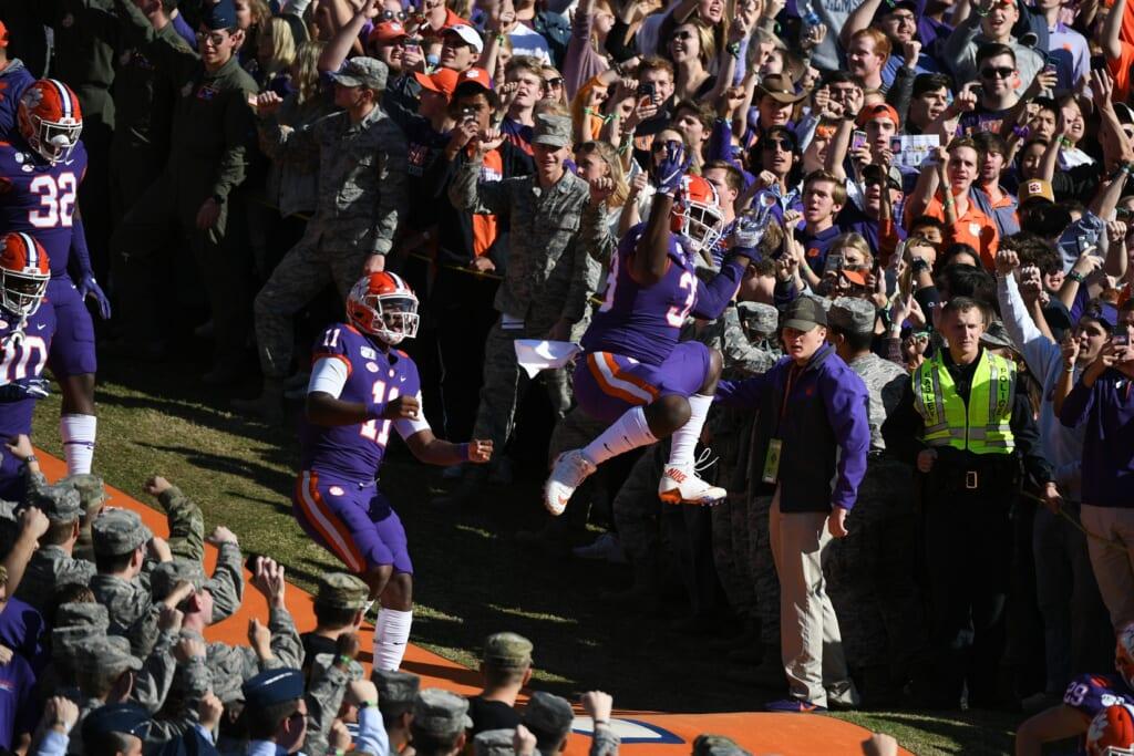 Best college football stadiums: Memorial Stadium, Clemson Tigers