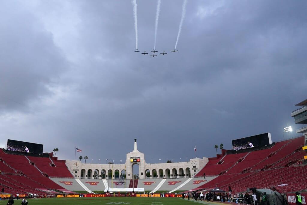 Best college football stadiums: Los Angeles Memorial Coliseum, USC Trojans