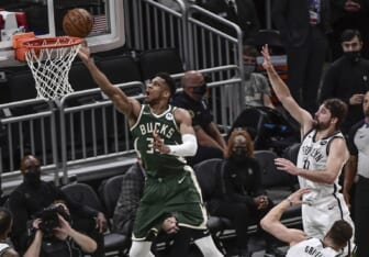NBA world reacts to Milwaukee Bucks avoiding brink of elimination in Game 3 vs. Nets