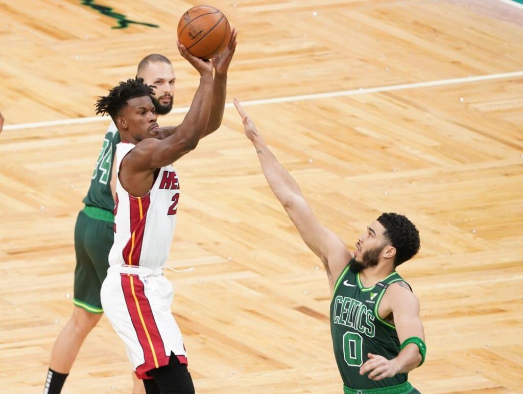 Jimmy Butler's jump shot improved over last season