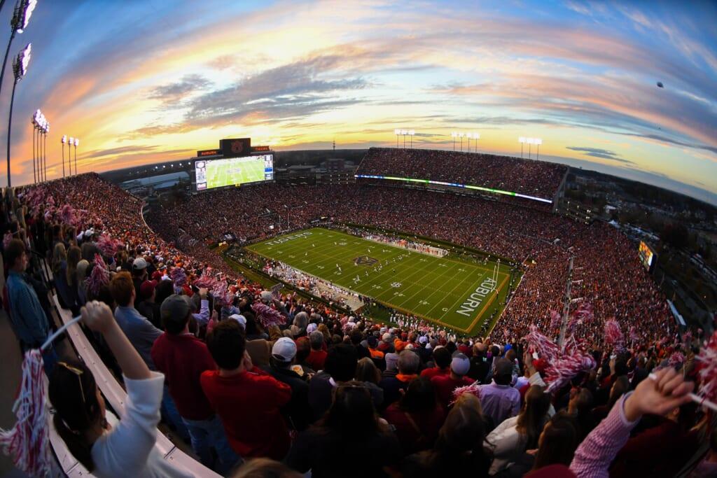 Best college football stadiums: Jordan–Hare Stadium, Auburn Tigers