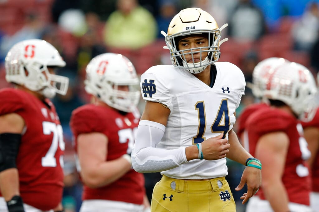 Notre Dame football schedule predictions