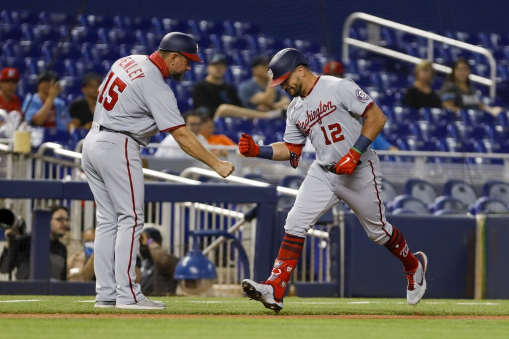 Kyle Schwarber is carrying the Washington Nationals' lacking offensive attack