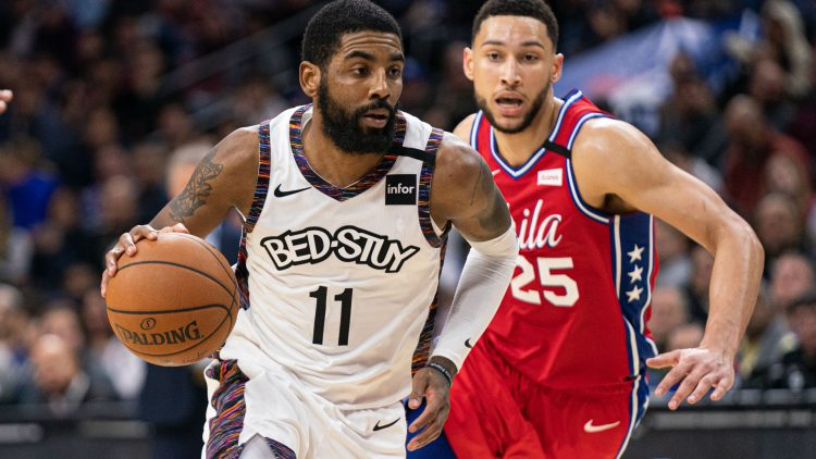 kyrie irving trade to the philadelphia 76ers for ben simmons
