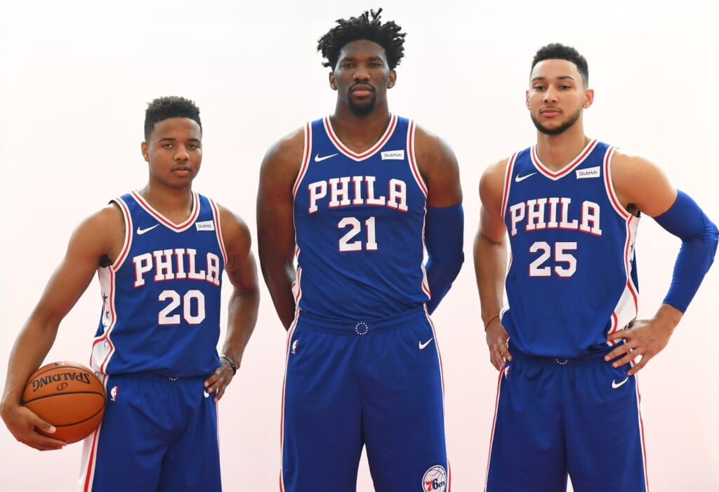 The marquee guards the Philadelphia 76ers did draft in The Process era had a common trait